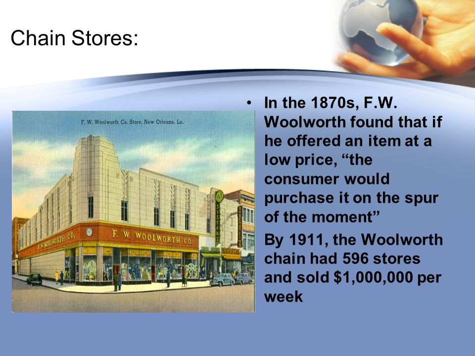 Chain Stores: