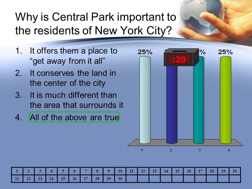 Why is Central Park important to the residents of New York City