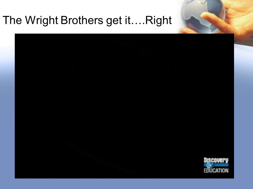 The Wright Brothers get it….Right