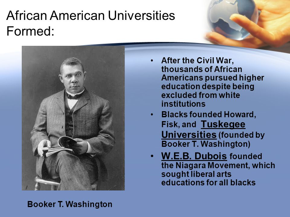 African American Universities Formed: