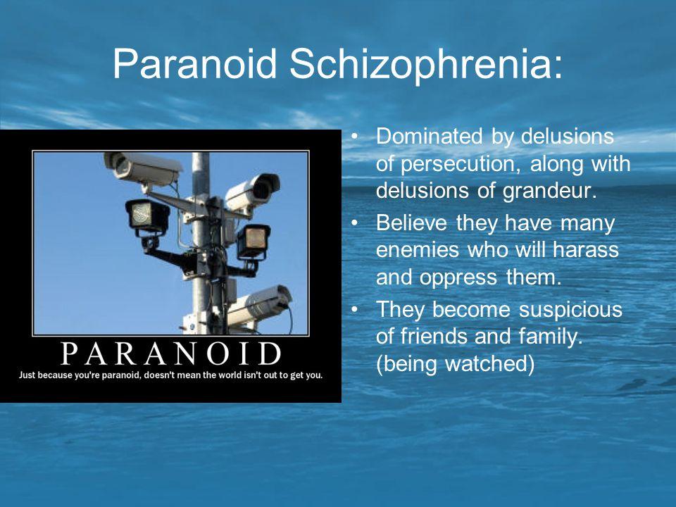 Paranoid Schizophrenia: