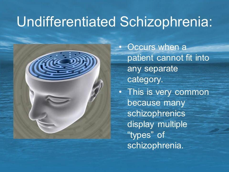 Undifferentiated Schizophrenia: