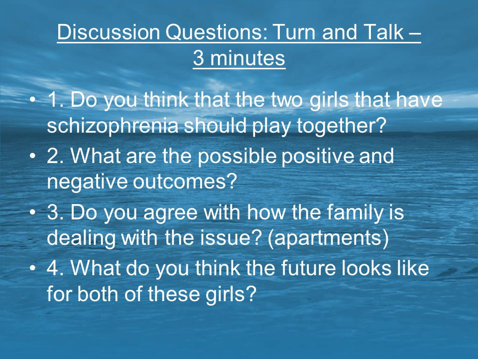 Discussion Questions: Turn and Talk – 3 minutes