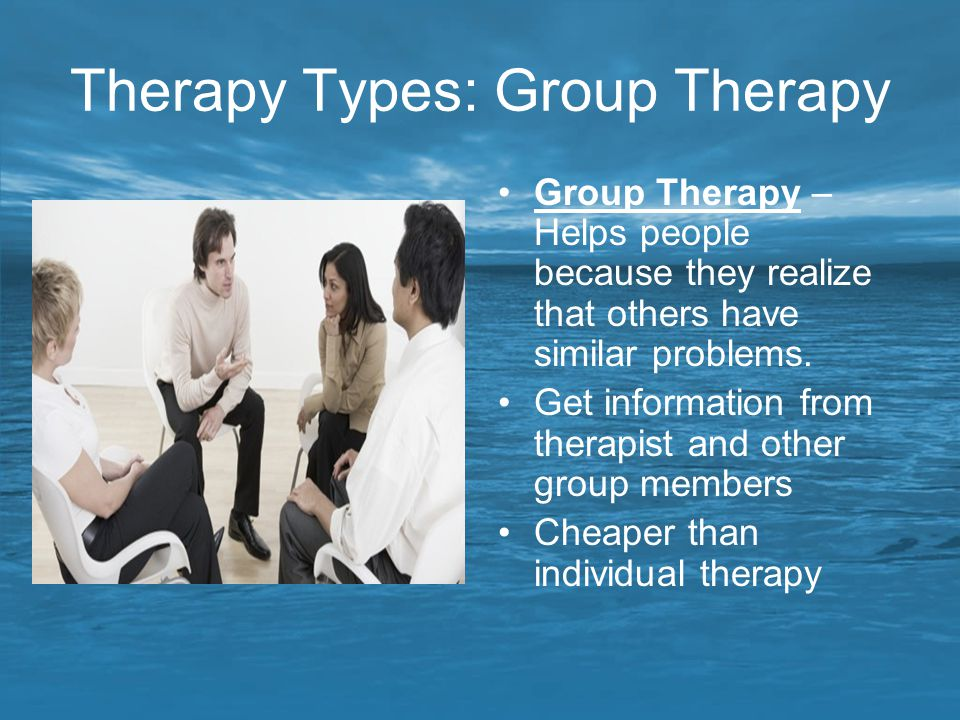 Therapy Types: Group Therapy