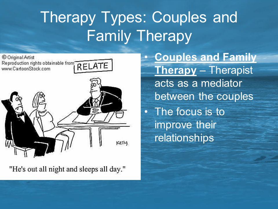 Therapy Types: Couples and Family Therapy