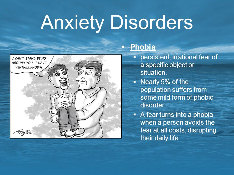 Anxiety Disorders Phobia