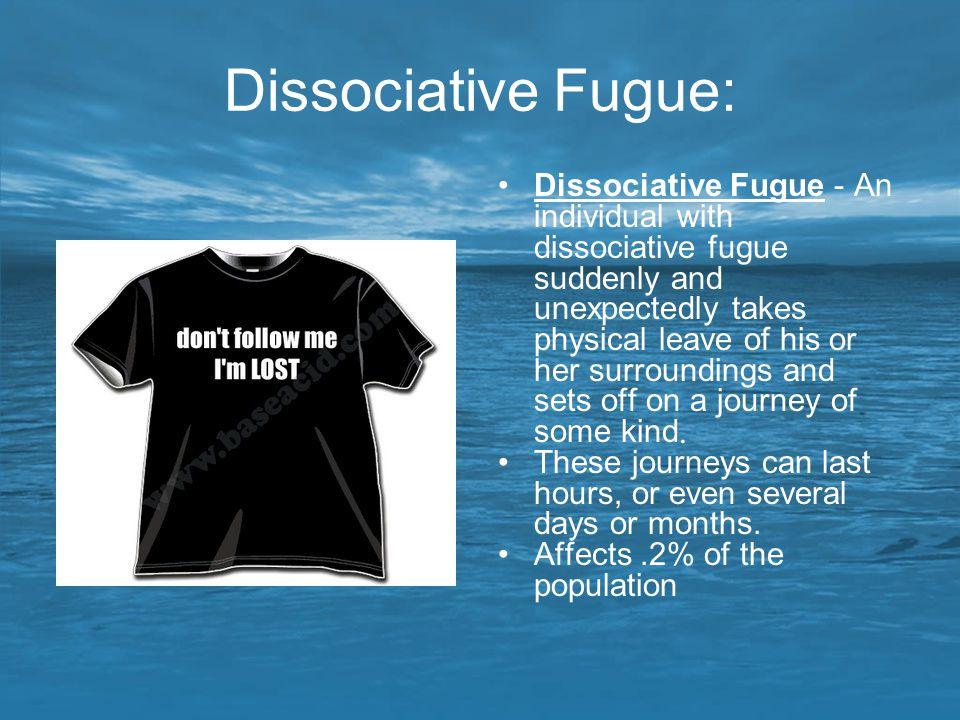 Dissociative Fugue: