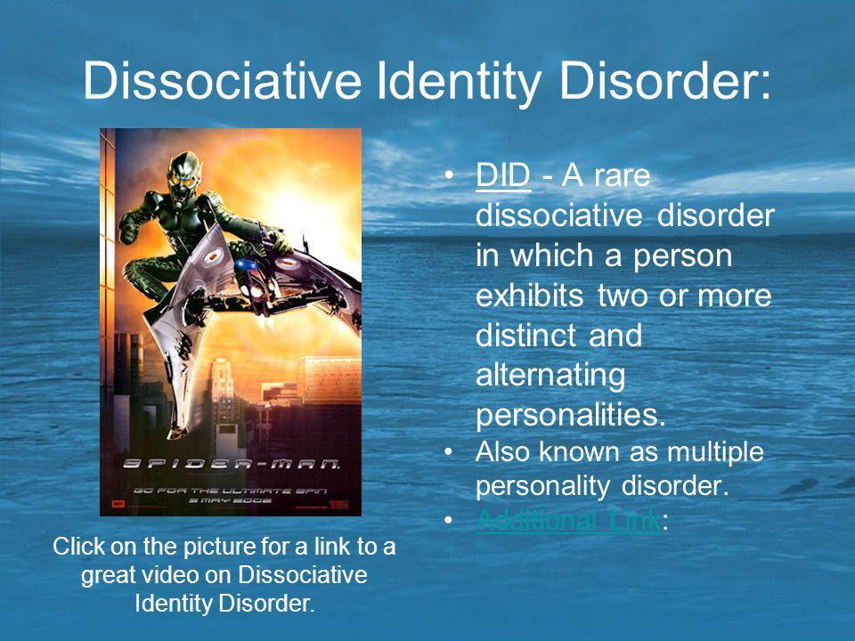 Dissociative Identity Disorder:
