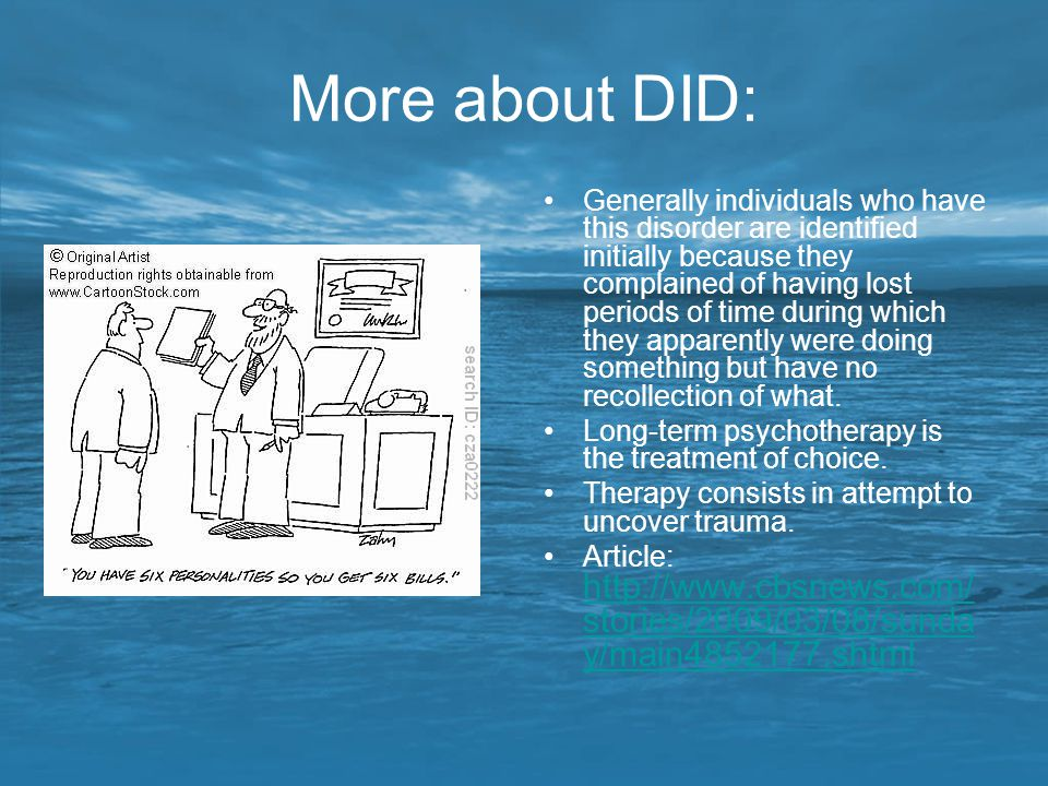More about DID: