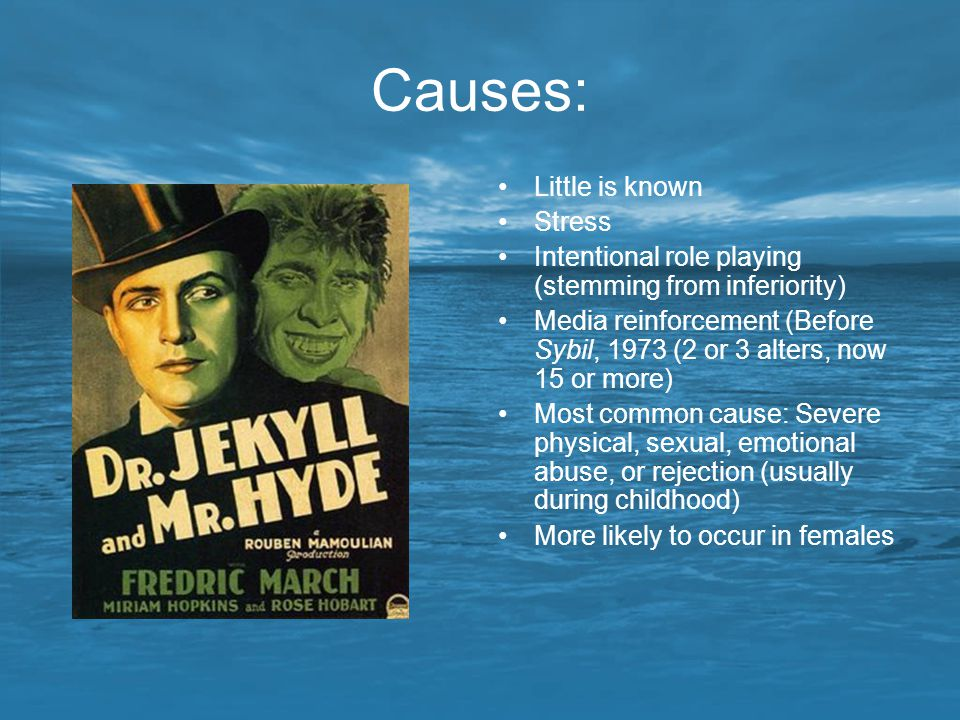 Causes: Little is known Stress