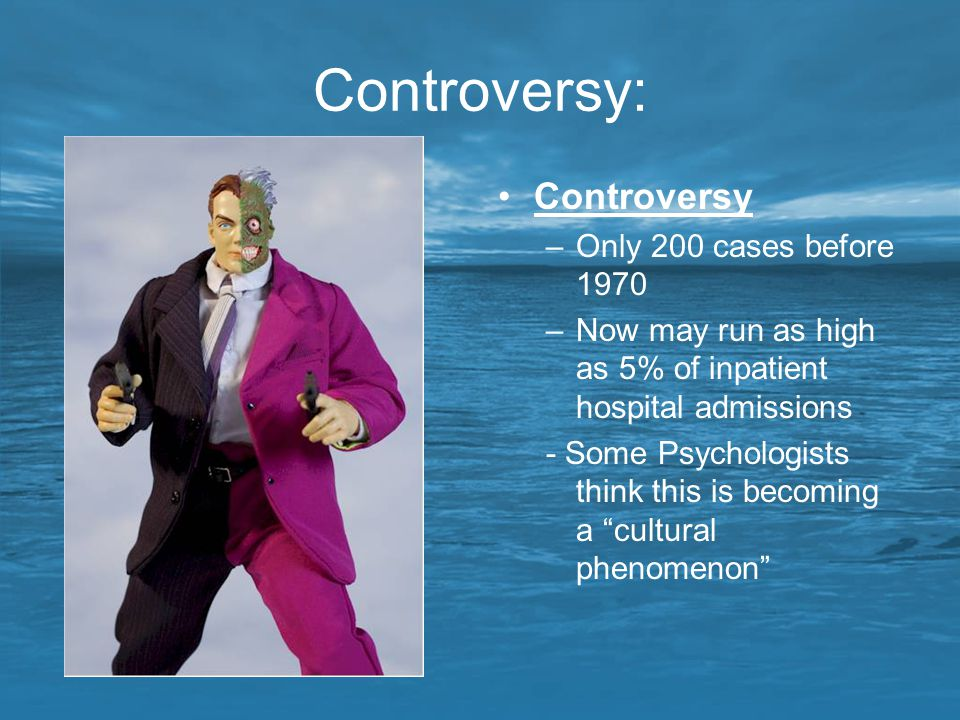 Controversy: Controversy Only 200 cases before 1970