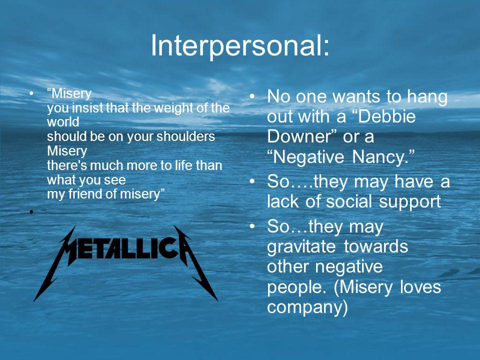 Interpersonal: