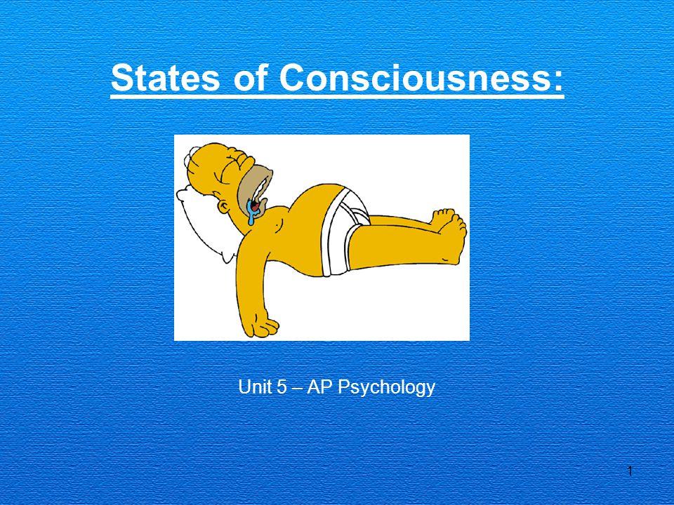 States of Consciousness: