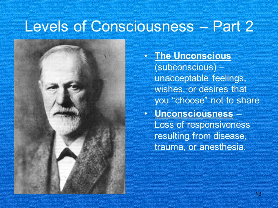 Levels of Consciousness – Part 2