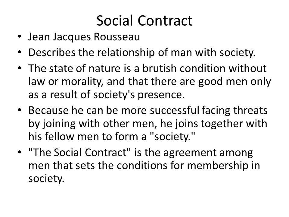Social Contract Jean Jacques Rousseau