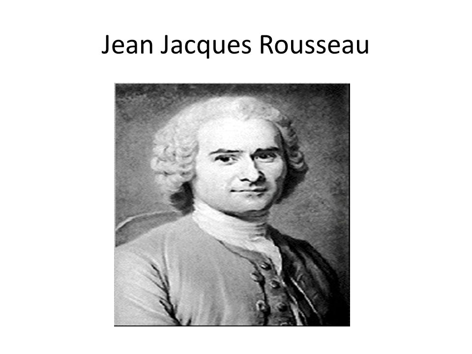 john lockes and jean jacque rousseaus opinions on the natural state of man Compare and contrast hobbes, locke and rousseau  john locke, and jean jacques rousseau who all differ in  john locke believed in the three natural.