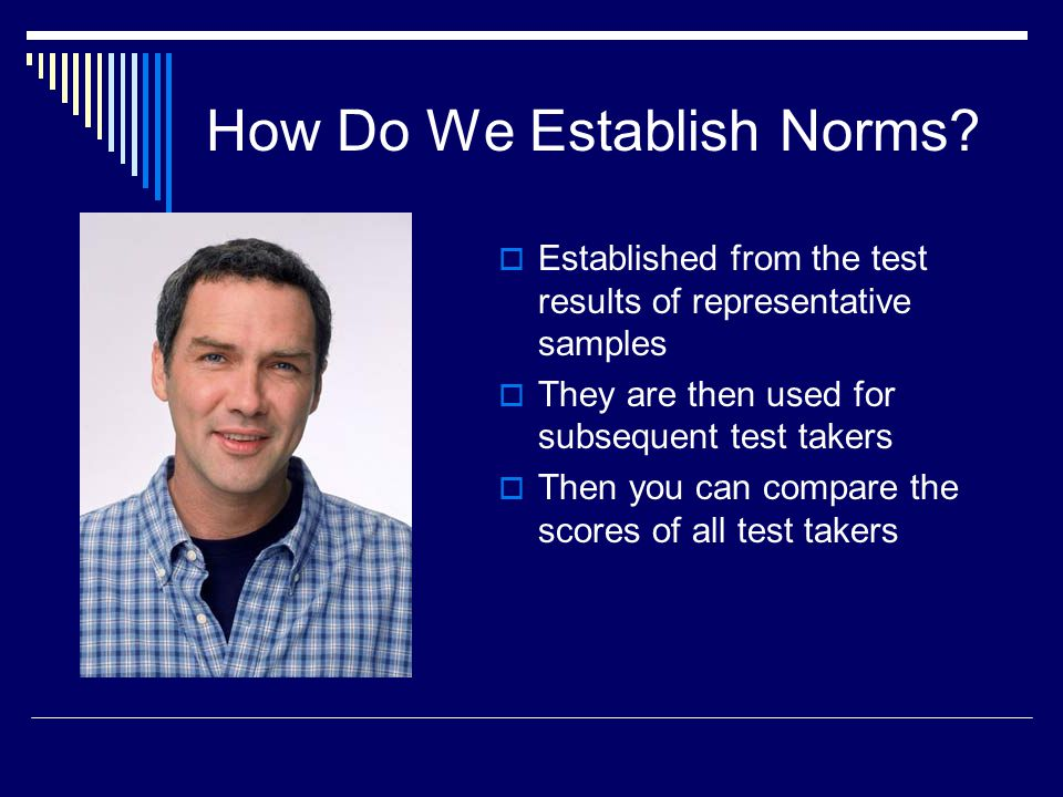 How Do We Establish Norms