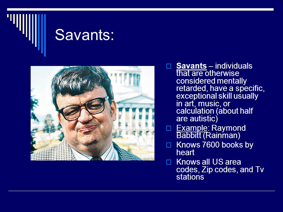 Savants: