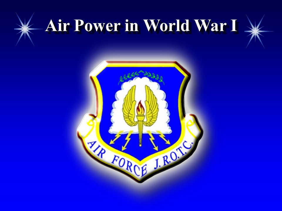 Air Power in World War I