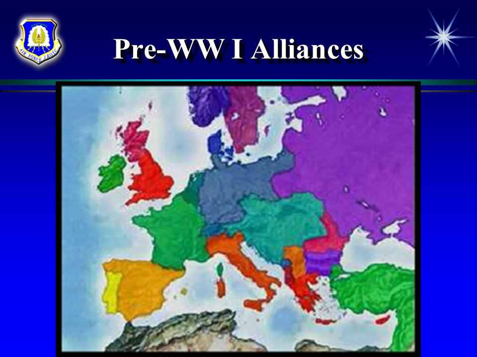 Pre-WW I Alliances Chapter 2, Lesson 3
