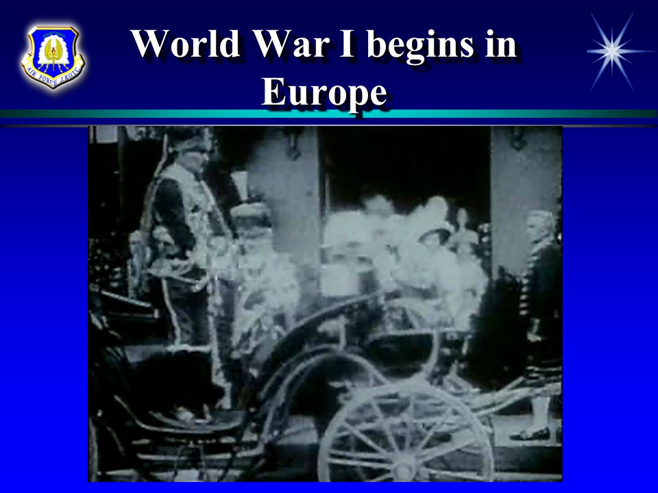 World War I begins in Europe