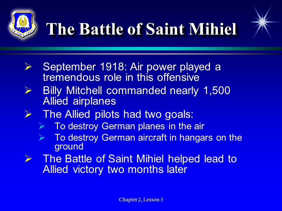 The Battle of Saint Mihiel