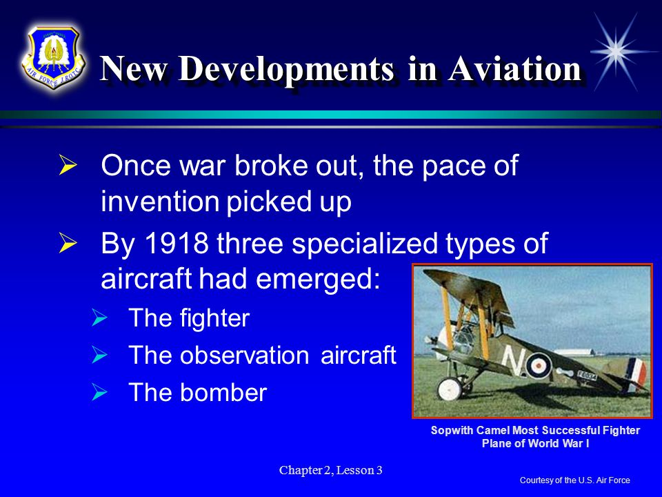 New Developments in Aviation