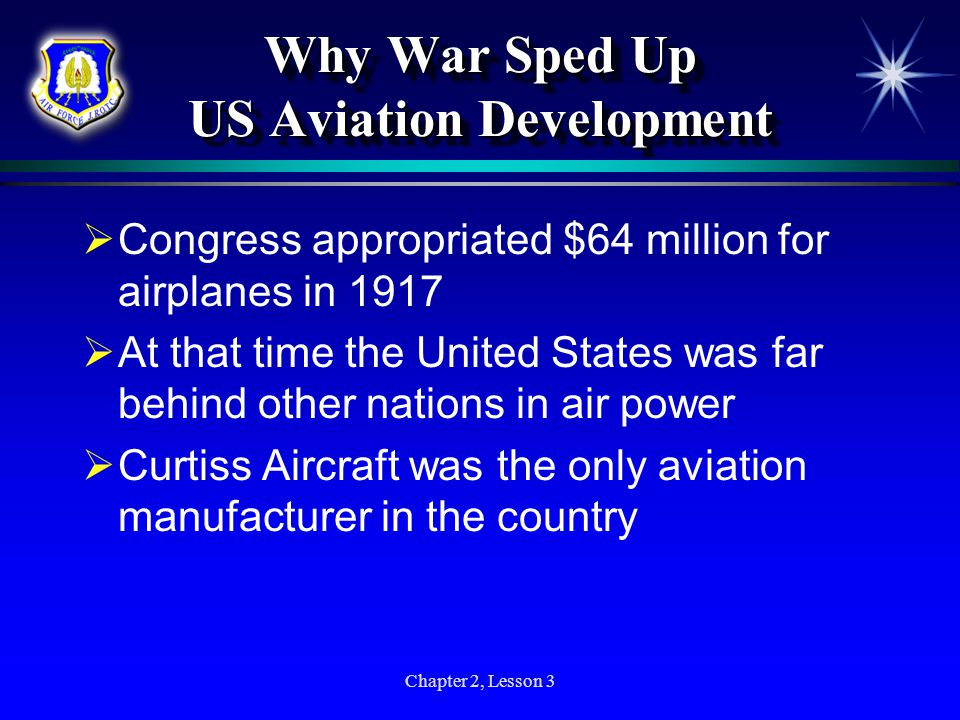 Why War Sped Up US Aviation Development