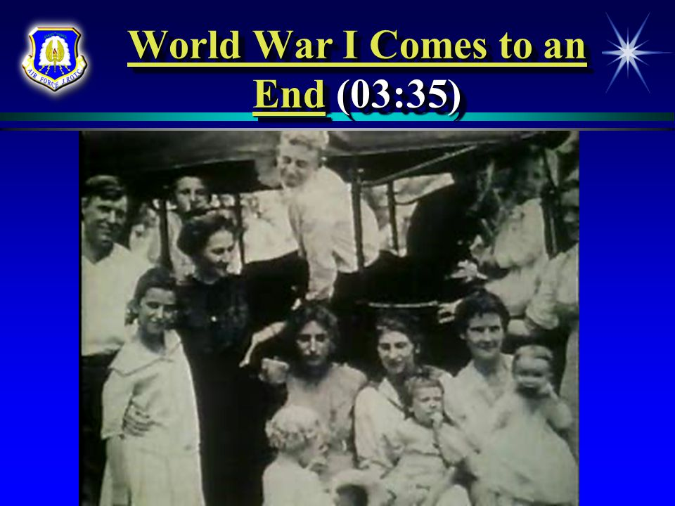 World War I Comes to an End (03:35)