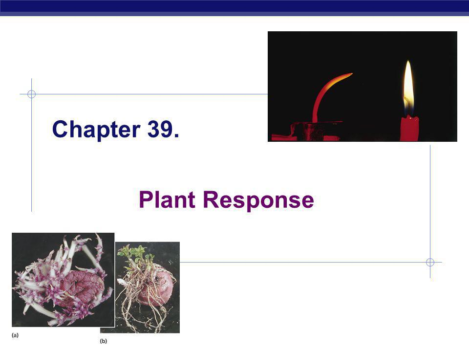 Chapter 39. Plant Response