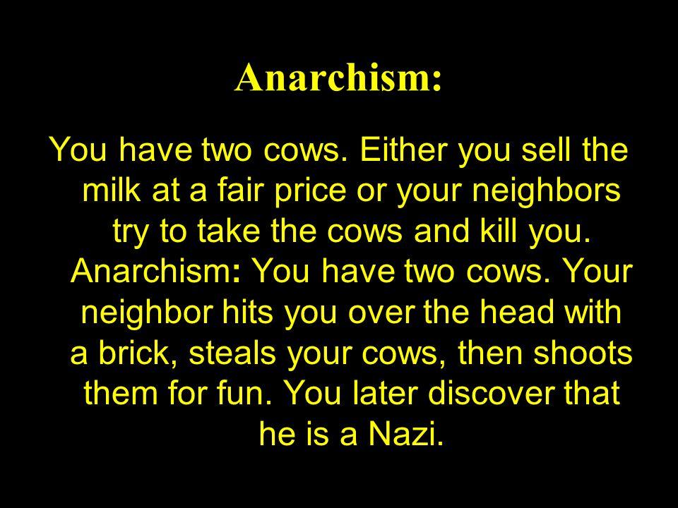 Anarchism: