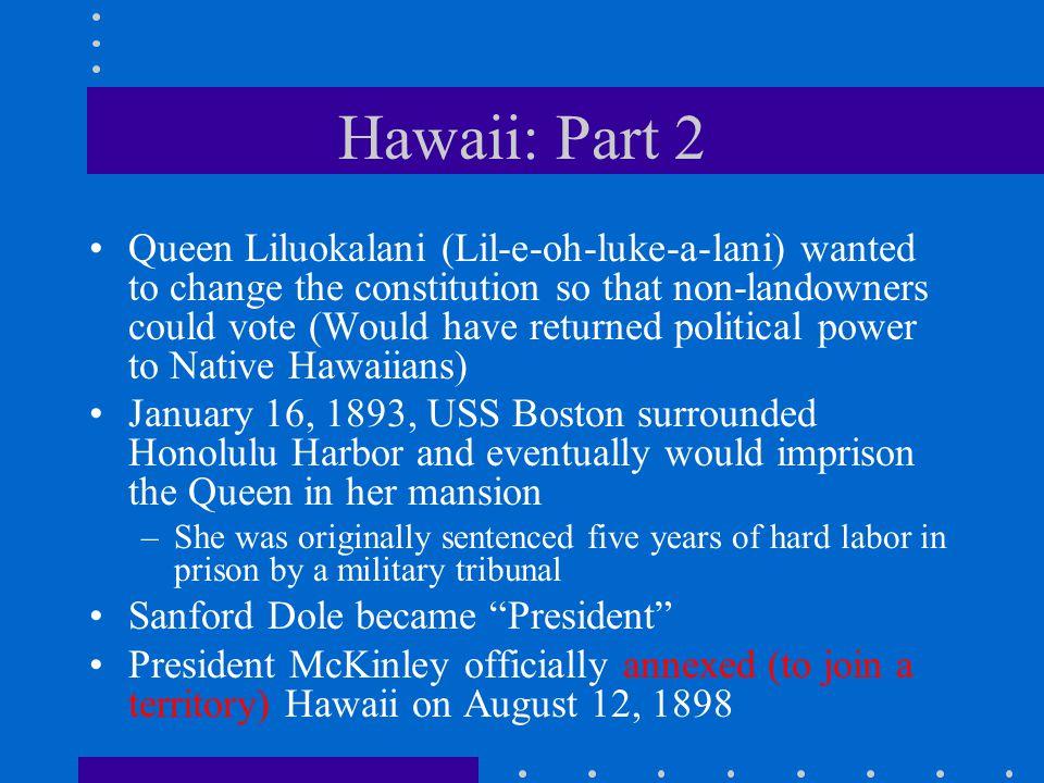 Hawaii: Part 2