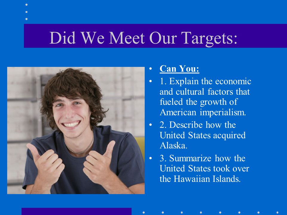 Did We Meet Our Targets: