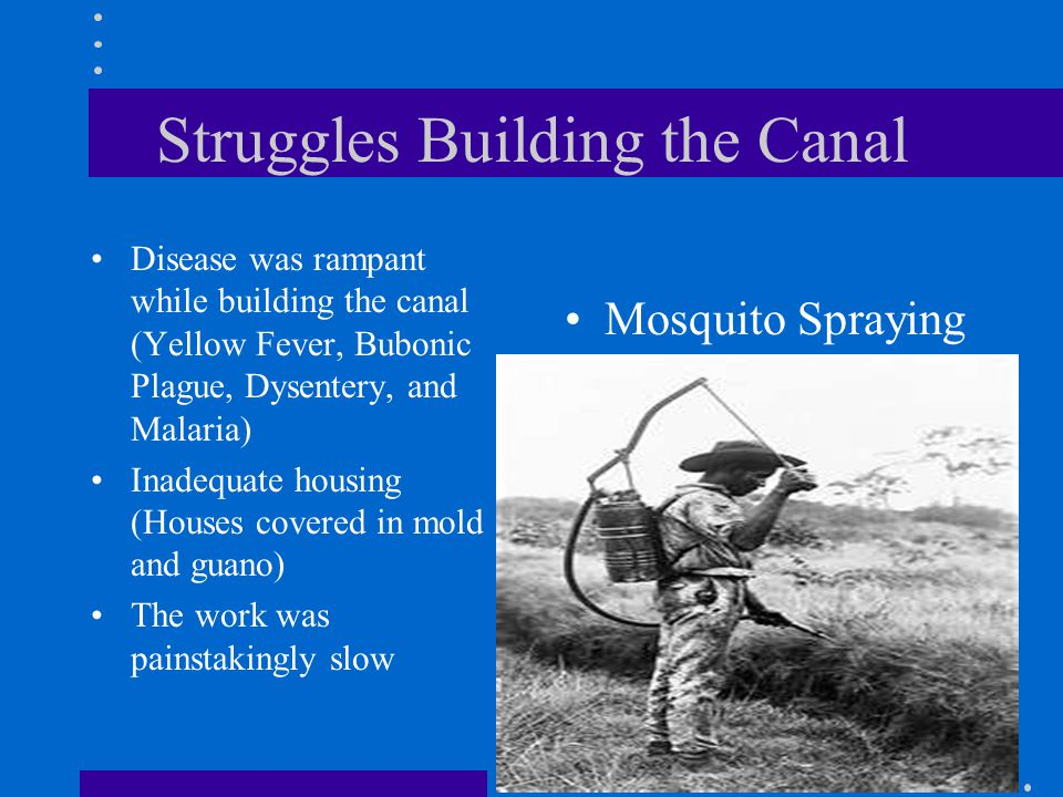 Struggles Building the Canal