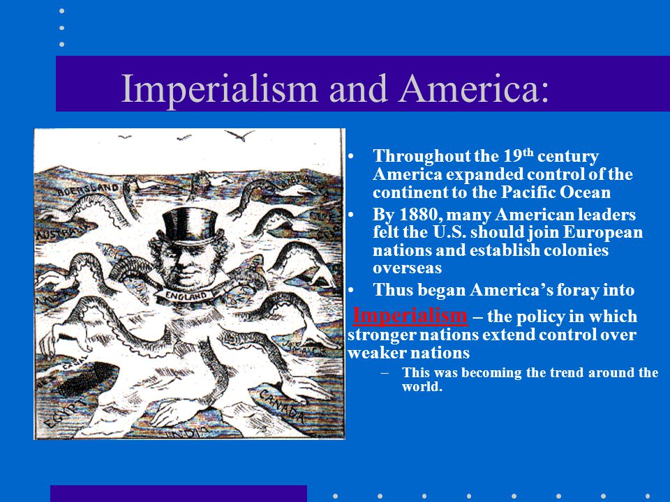 Imperialism and America: