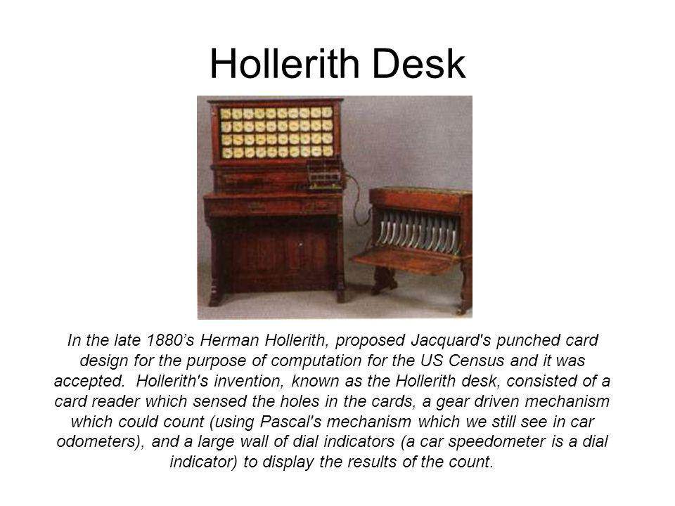 Hollerith Desk