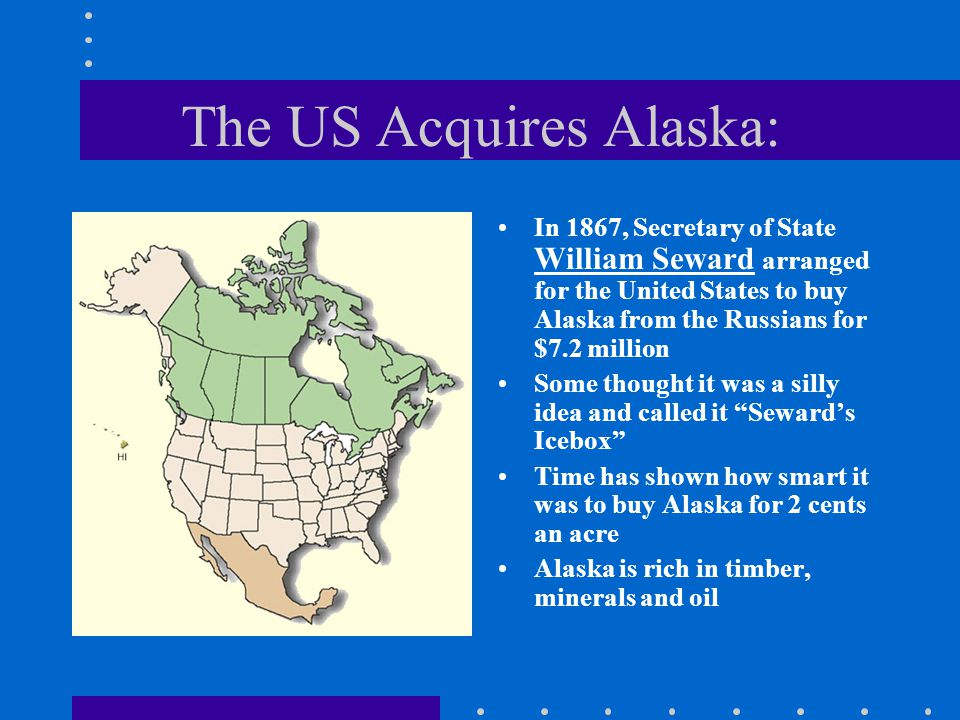 The US Acquires Alaska: