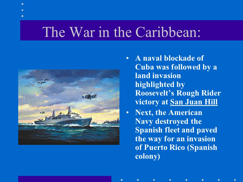 The War in the Caribbean: