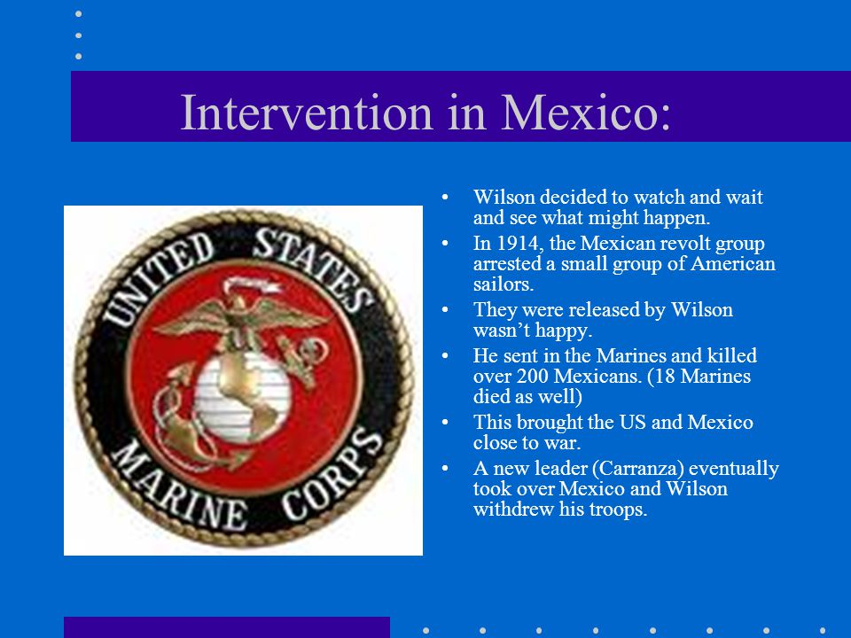 Intervention in Mexico: