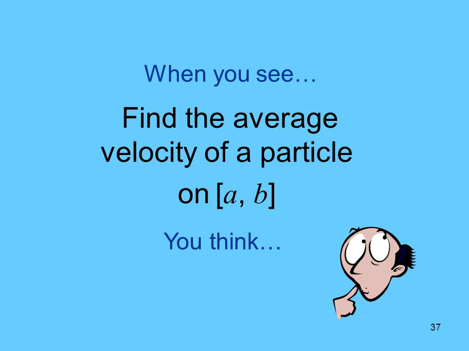 Find the average velocity of a particle