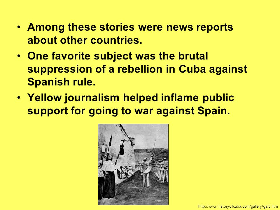 Among these stories were news reports about other countries.