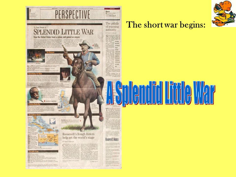 The short war begins: A Splendid Little War
