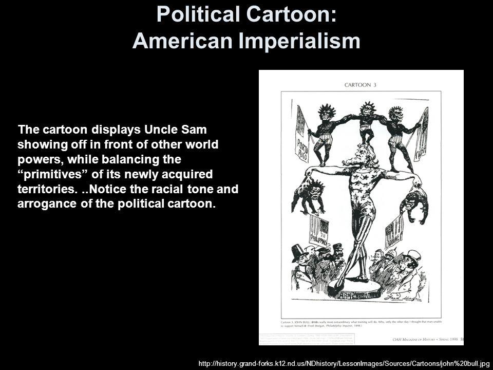 Political Cartoon: American Imperialism