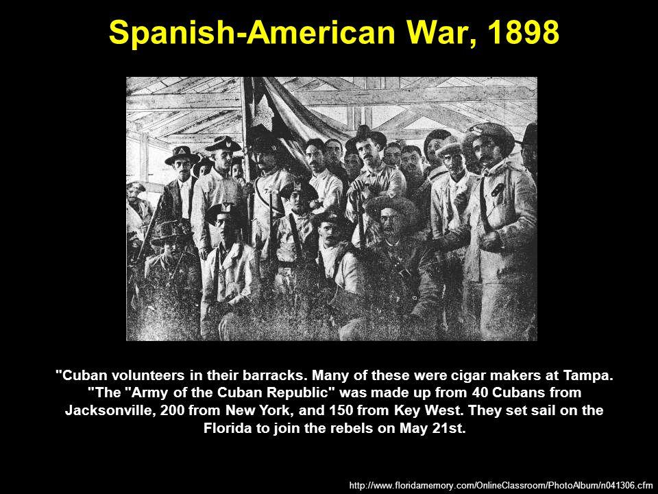 Spanish-American War, 1898