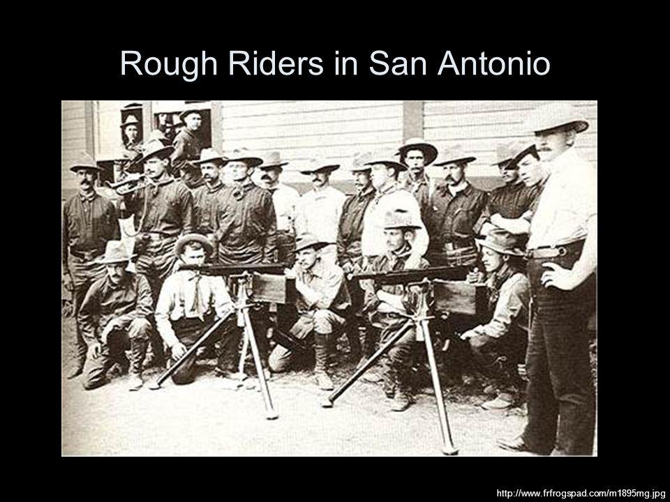 Rough Riders in San Antonio