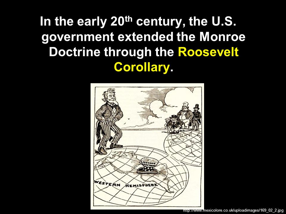 In the early 20th century, the U. S