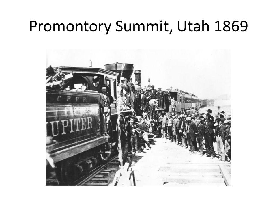 Promontory Summit, Utah 1869