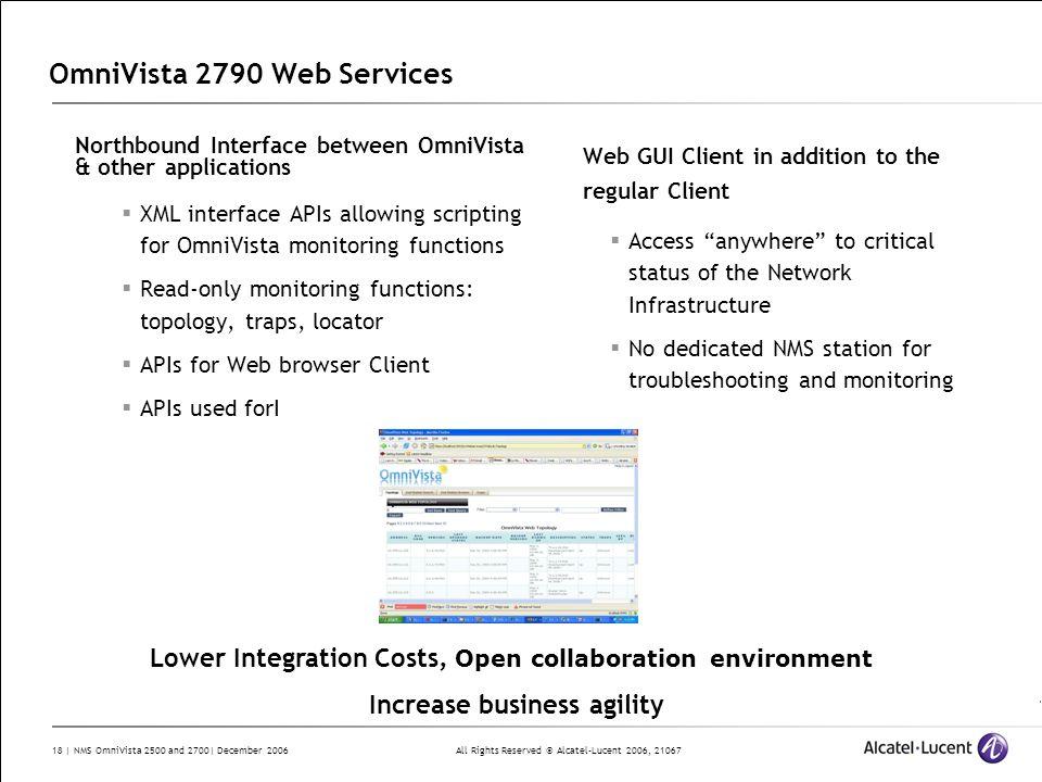 OmniVista 2790 Web Services