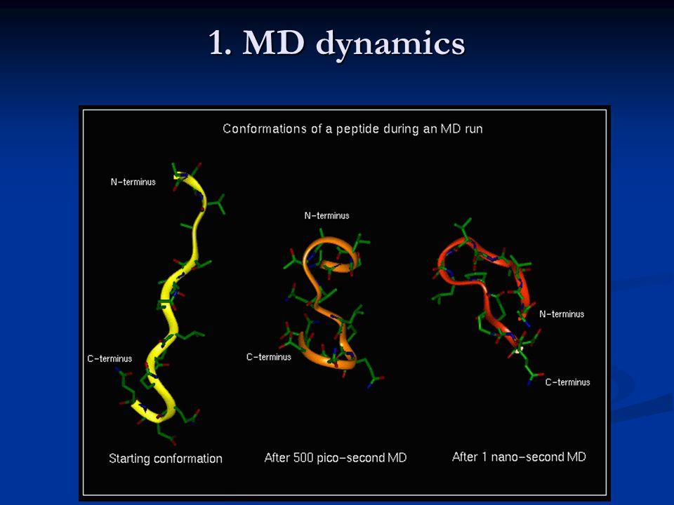 1. MD dynamics
