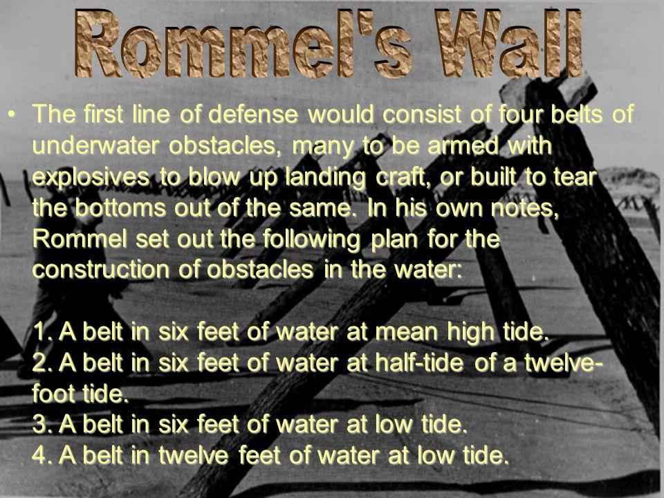 Rommel s Wall